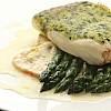 Halibut herb crust