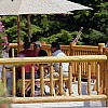 Lodge Deck o