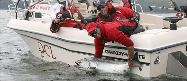 QCL 58 lb Tyee released