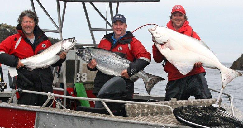 QCL vision story salmon and halibut fishing