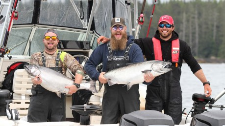 QCL Chinook fishing