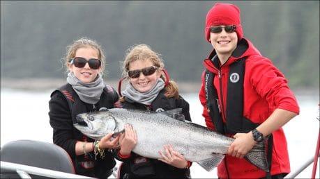 Family Fishing Success at QCL!