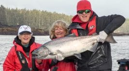 Catch & Release Tyee at QCL