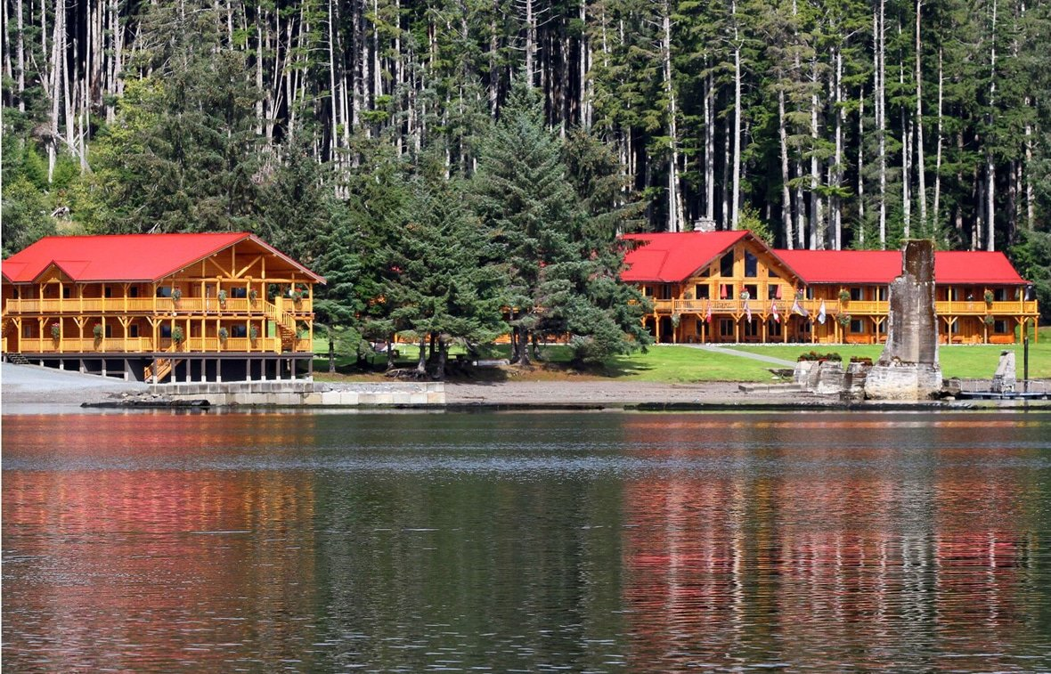 british columbia salmon fishing lodges offer a break from