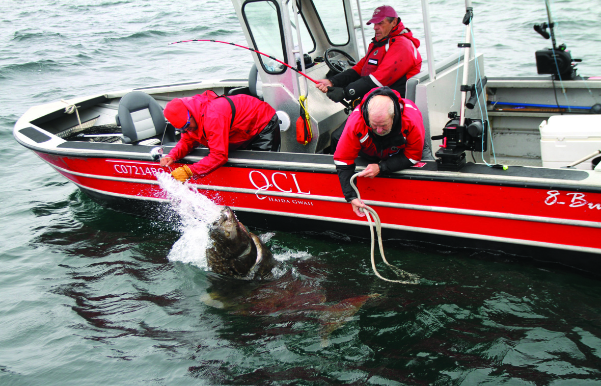 Experience legendary halibut fishing in BC's North West Coast