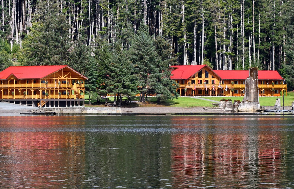 Experience legendary first class fishing at QCL in Naden Harbour, BC