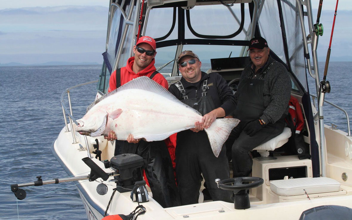 Guided halibut fishing BC