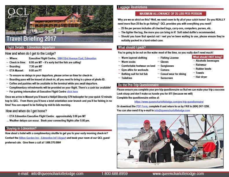 QCL Travel Briefing Edmonton