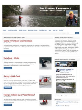 The Fishing Experience with The Rambling Fisherman blog