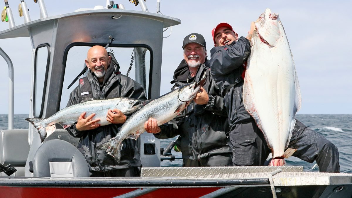 QCL fishing for halibut and salmon