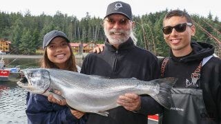 Awesome QCL Coho Fishing