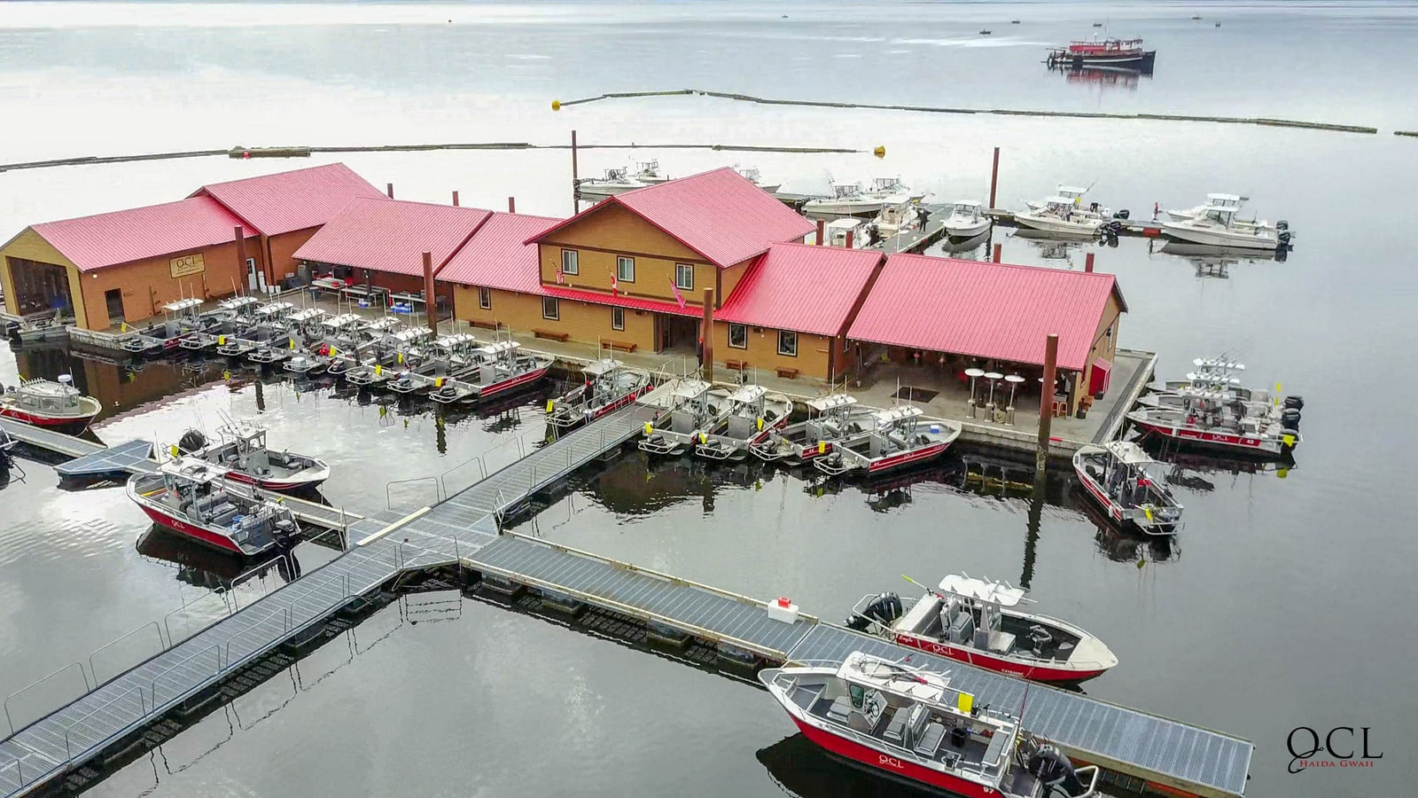 Arieal Shot of QCL harbor