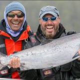 QCL Chinok salmon fishing success