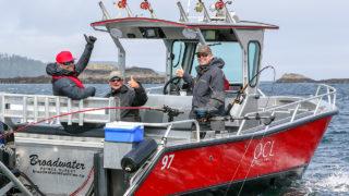 QCL Chinook Salmon fishing
