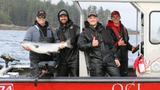 Family Tyee fishing trip!