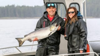 Chinook salmon success!