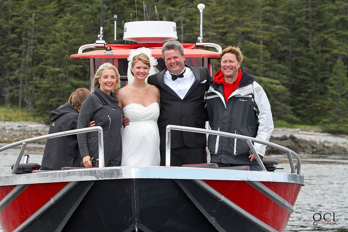 Destination Wedding Haida Gwaii B.C.