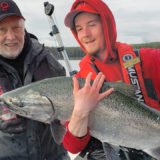 Tyee Chinook salmon