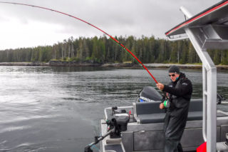 Chinook salmon fishing