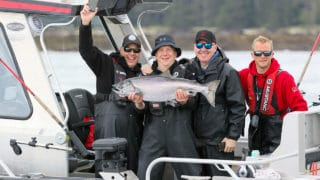 QCL Salmon fishing