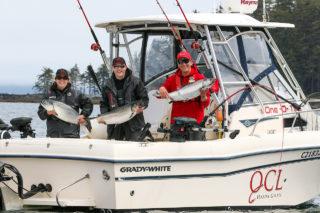 QCL salmon fishing