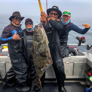 QCL Halibut fishing