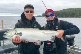 Tyee Chinook at QCL