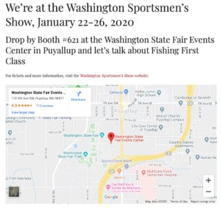 Come see us in Puyallup!